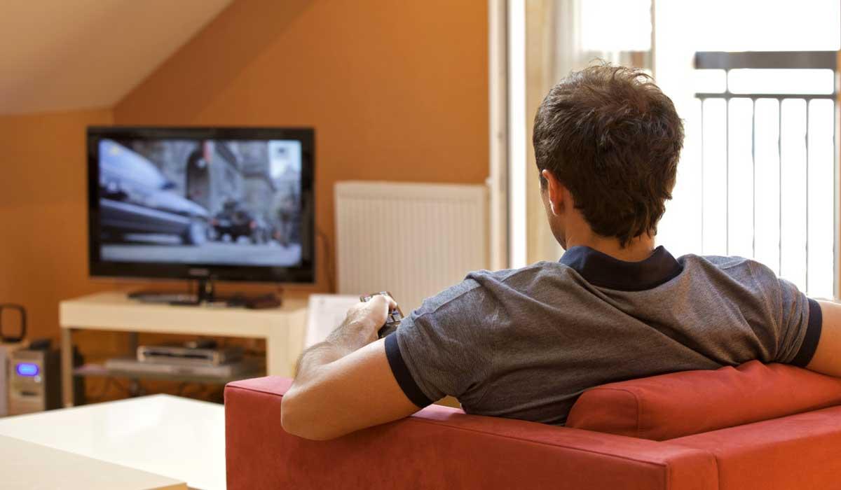 знакомство с телевизором
